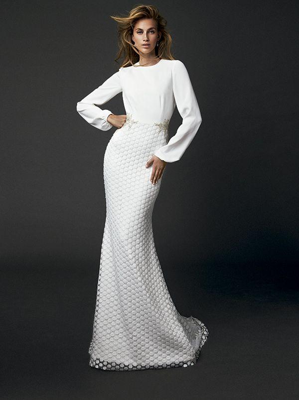 "bride dress of ""victoria (2nd branch of vicky martín berrocal"