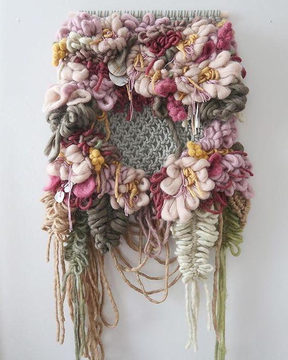 DIY Woven Tapestry Tutorials - Hey Lai