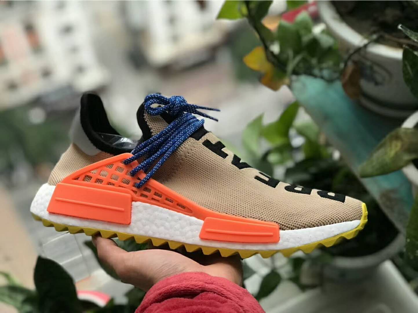 aaf73a7def0305 Pharrell Williams x adidas NMD Hu Trail Pale Nude AC7361