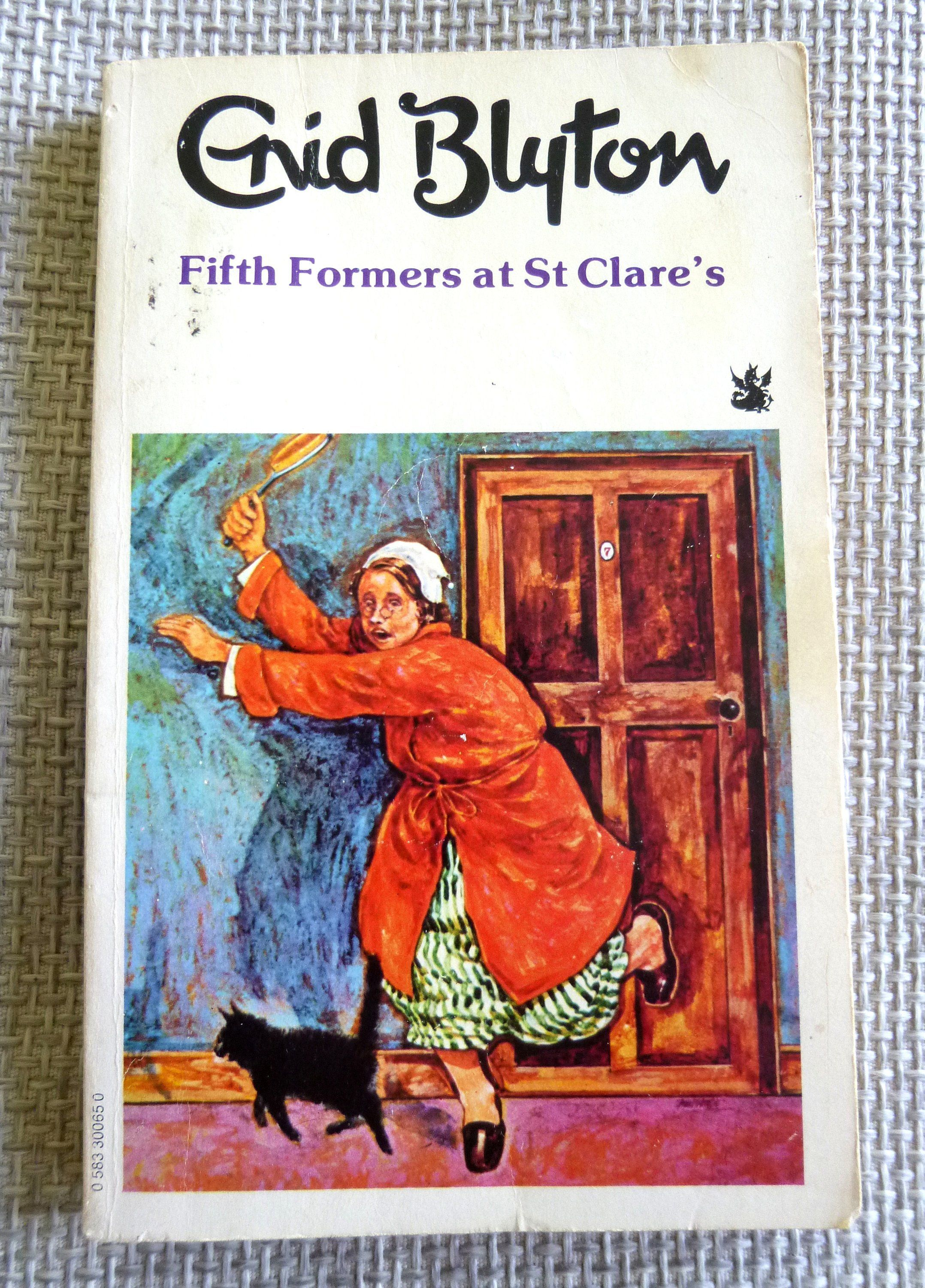 Fifth Formers At St Clare S By Enid Blyton Vintage Paperback Book St Clare S Antique Books Enid Blyton Books