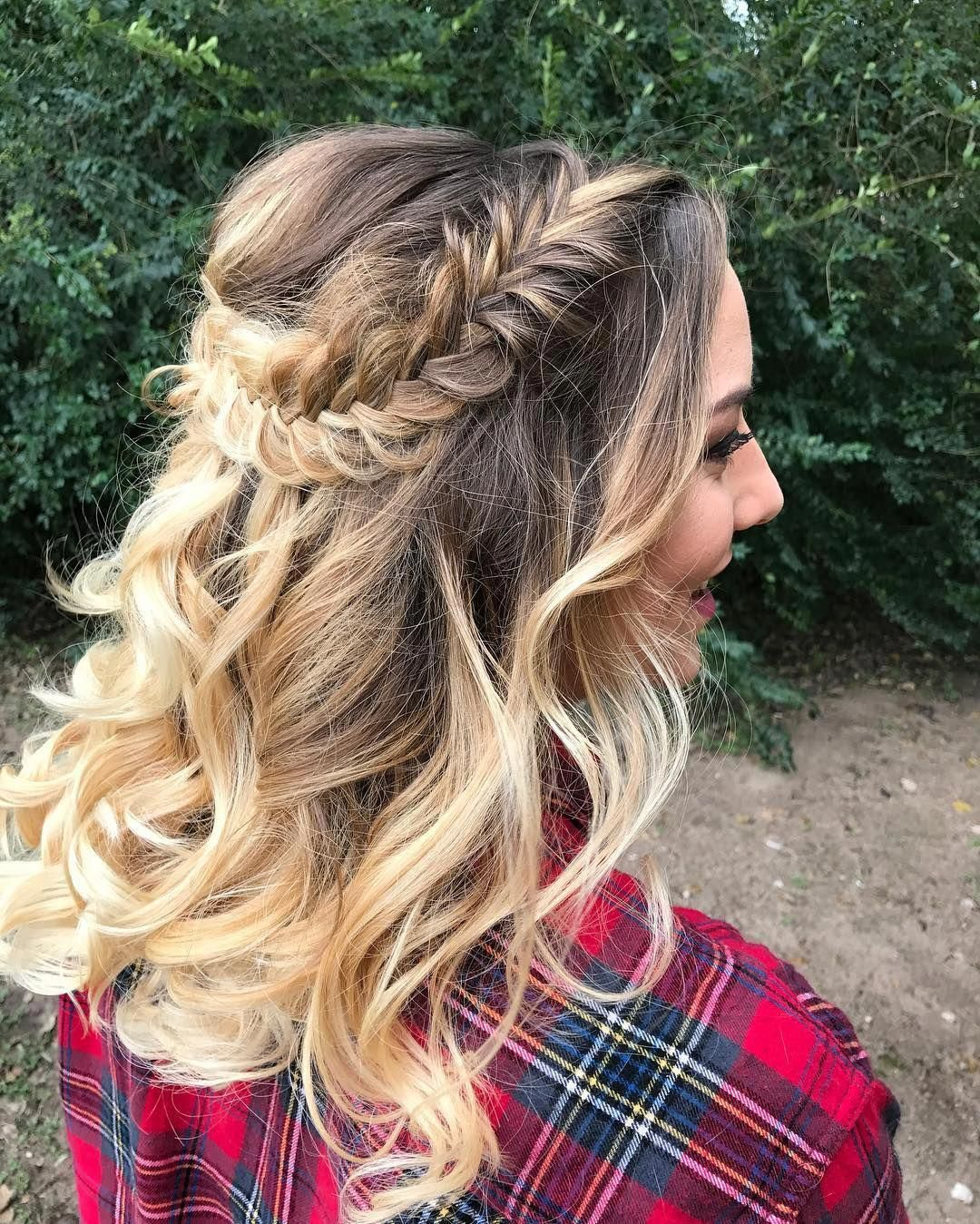 nice 60 Dazzling Ideas For Half Up Half Down Prom ...