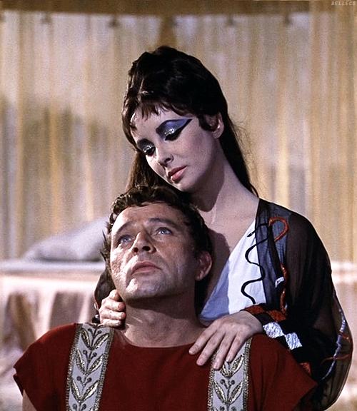 Richard Burton and Elizabeth Taylor in Cleopatra, 1963 ... Richard Burton Cleopatra