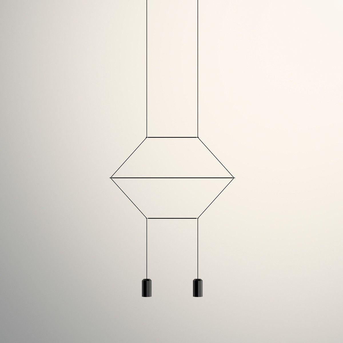 Vibia Wireflow Pendelleuchte Linear 2 Flg Schwarz Mit Bildern Pendelleuchte Leuchten Hangeleuchte