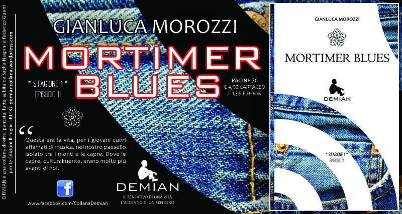 """Mortimer blues"", di Gianluca Morozzi"