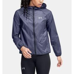 Photo of Under Armor Women's Ua Qualifier Storm Stowable Jacket Blue Xl Under Armor