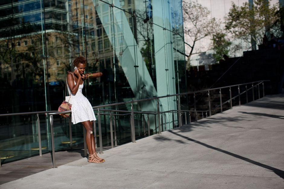 Our beauty editor Megan! On the Street…..West 66th St., New York « The Sartorialist