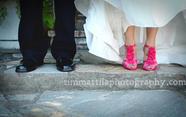 hääkuva kengistä