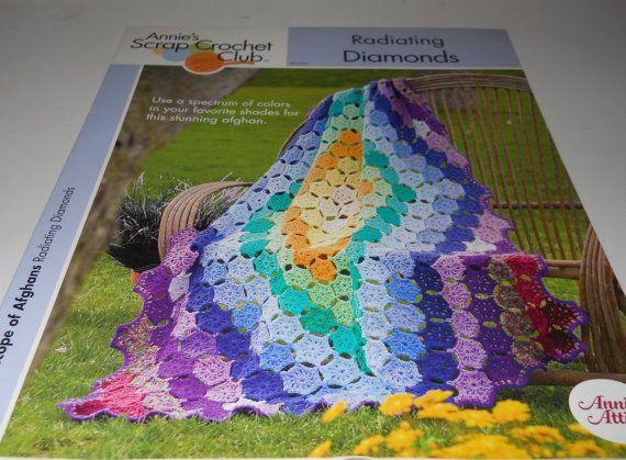 Radiating Diamonds Crochet Afghan Blanket by PattysCrochetPlace ...