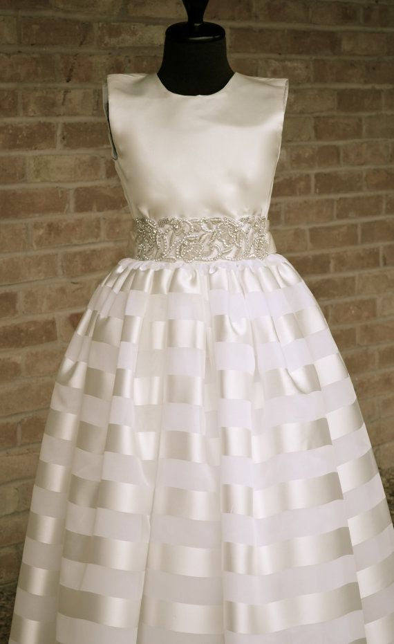 First Communion Dress Cotillion Dress by CouturesbyLaura ...