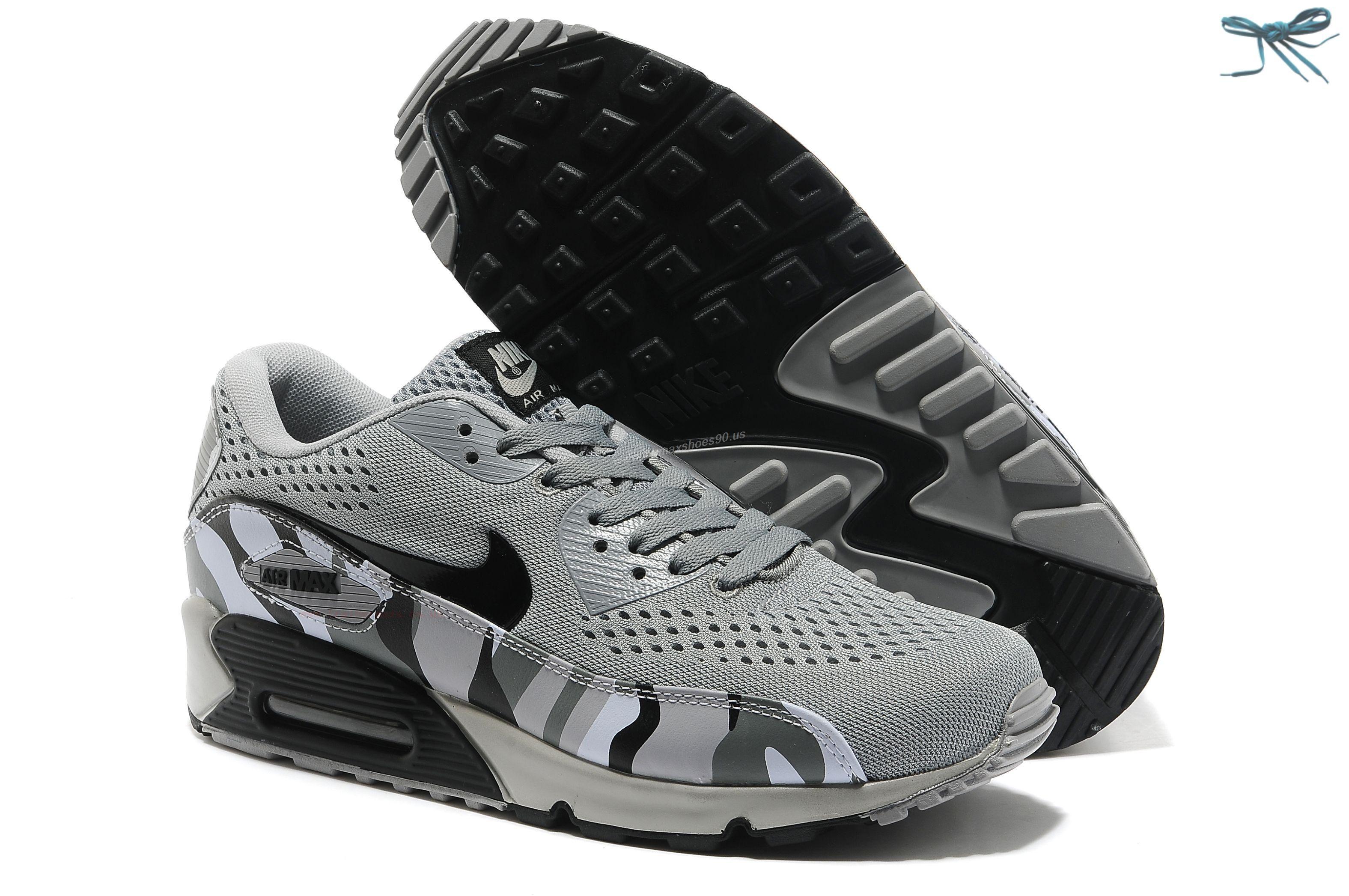 Black · Weaving Gray Black Nike Store For Air Max 90 Premium EM ...