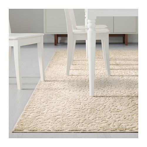 Dynt Rug, Low Pile, Beige | Places, The Floor And Rugs Beige Wei Ikea