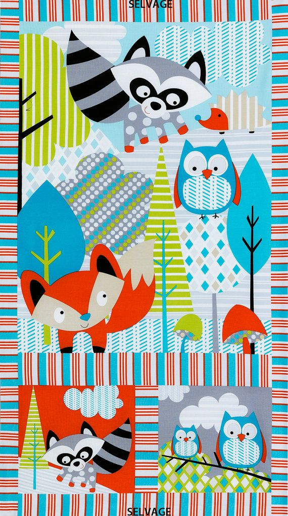 Quilt Fabric Panel 24 X 44 Timeless Treasures Fun C2593