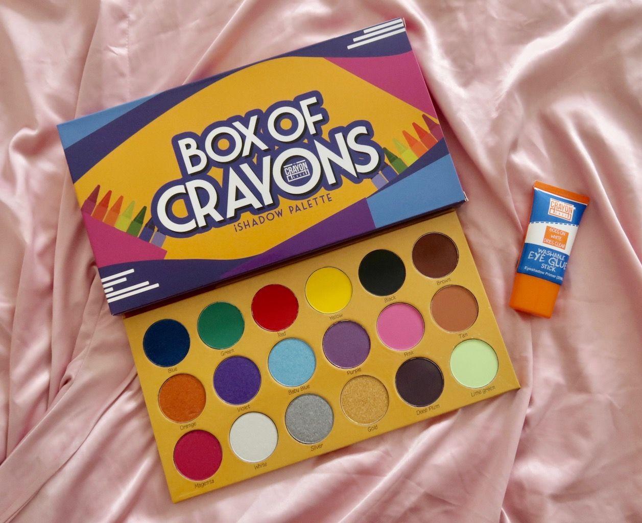 box of crayons makeup palette box of crayons eyeshadow
