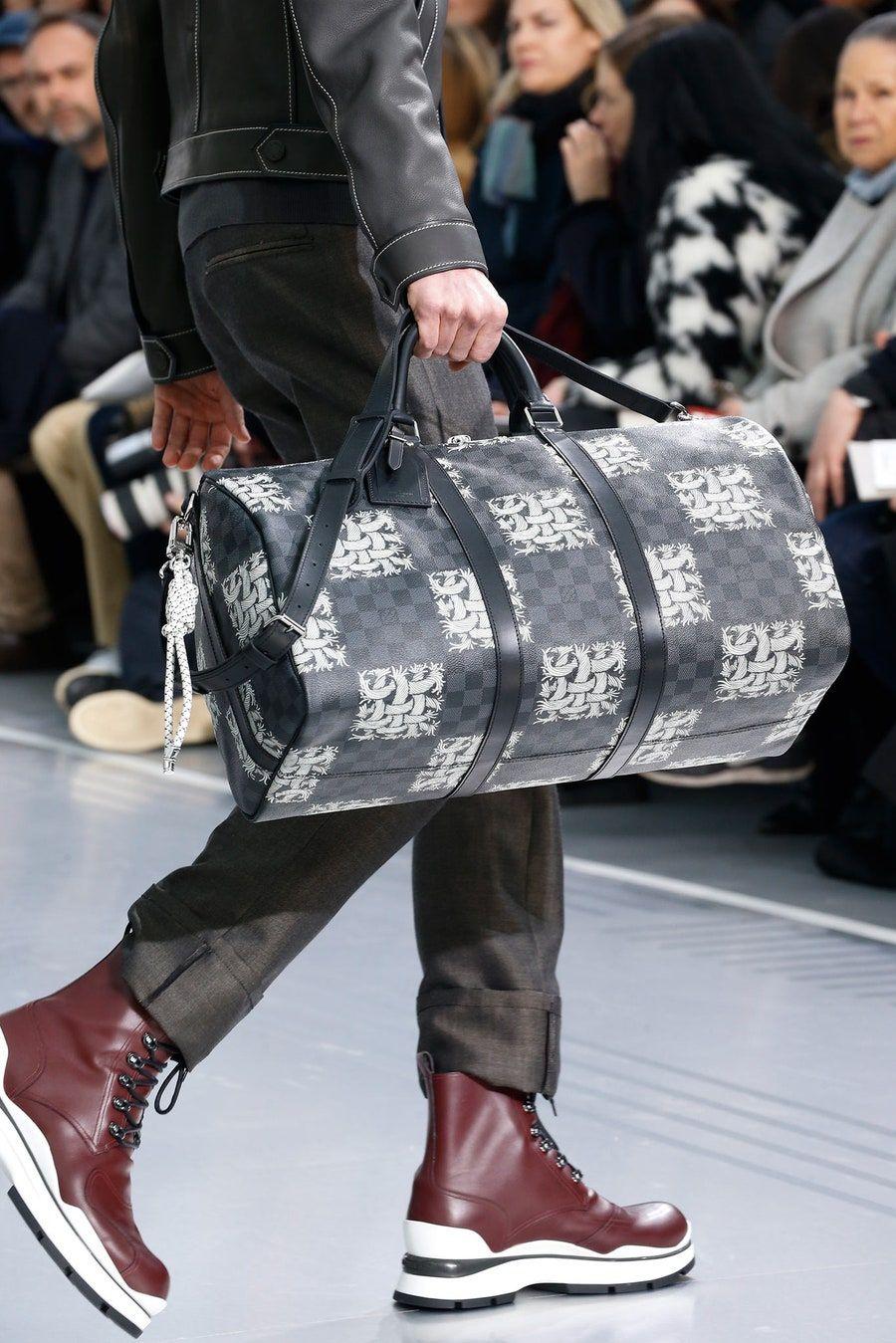 Louis Vuitton Fall 2015 Menswear Fashion Show Louis Vuitton Men Louis Vuitton Handbags For Men
