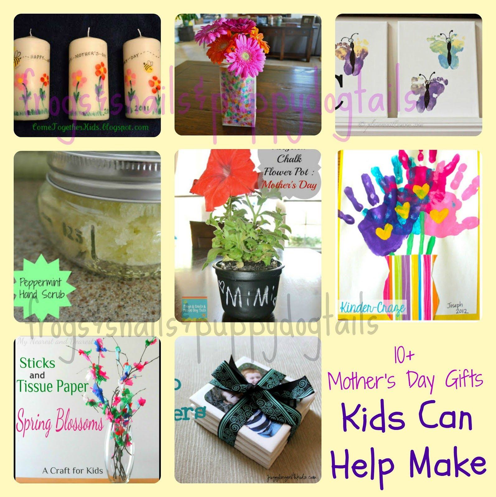 10 Mothers Day Craft Gift Ideas Kids Can Help Make