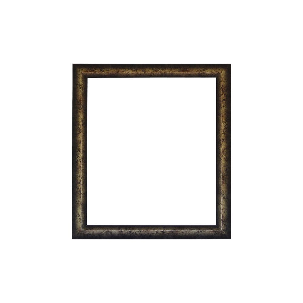 50x60cm EXTRA LARGE PICTURE FRAME, MOTTLED SILVER SYNTHETIC WOOD ...