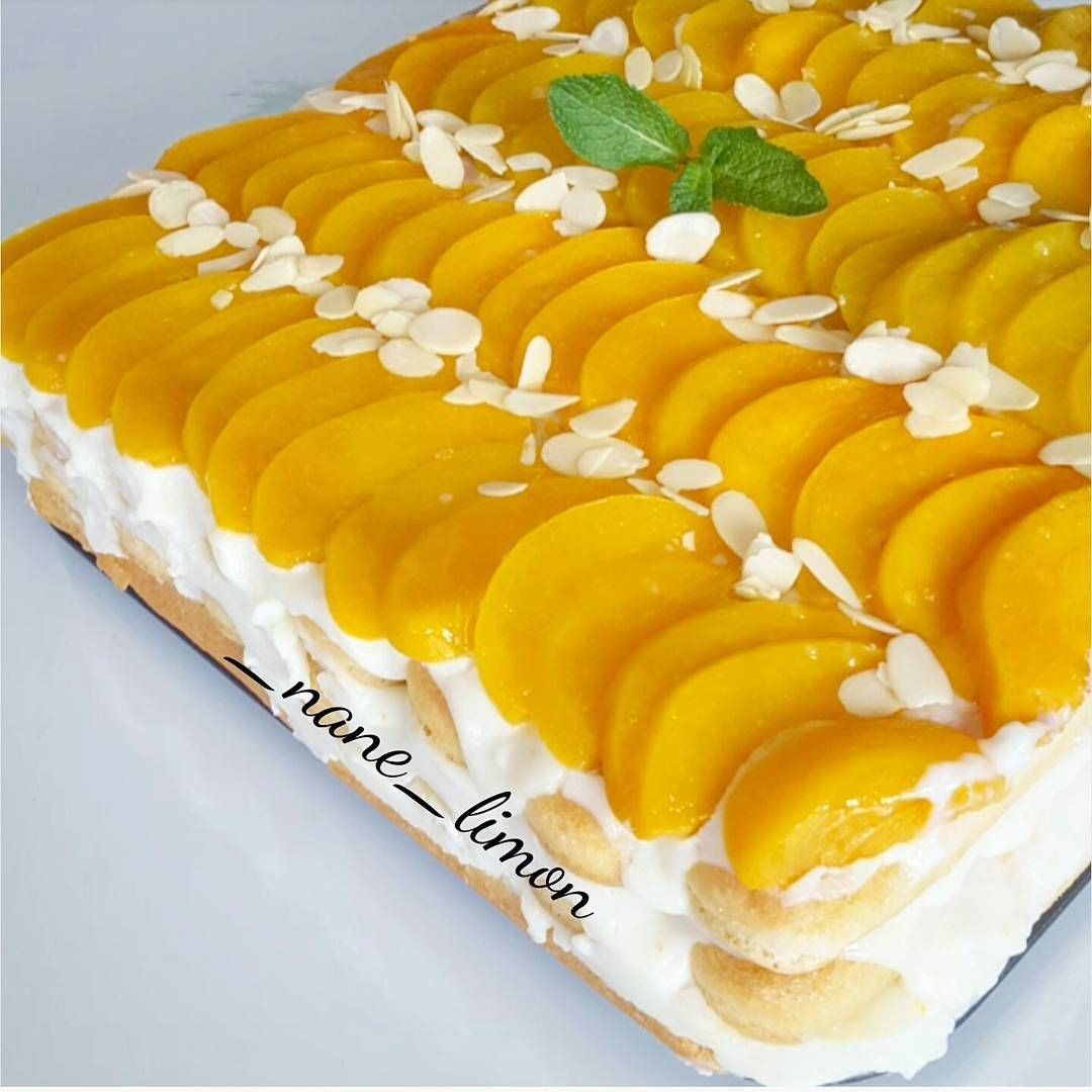 Labneli Şeftalili Mini Pastalar
