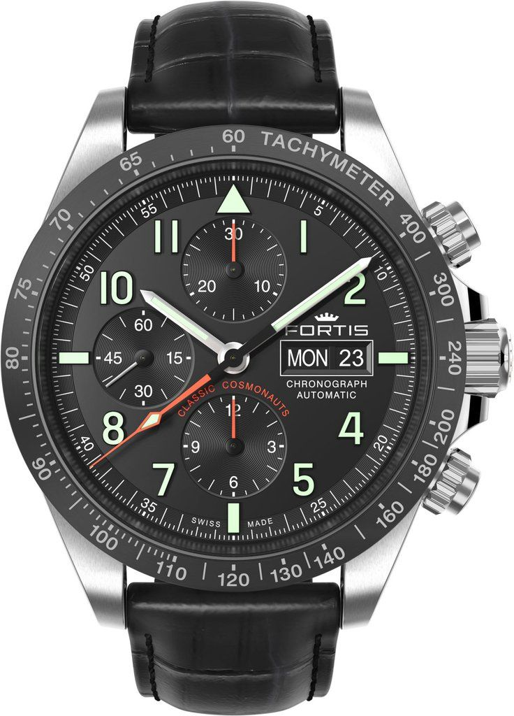 Fortis watch cosmonautis classic cosmonauts addcontent