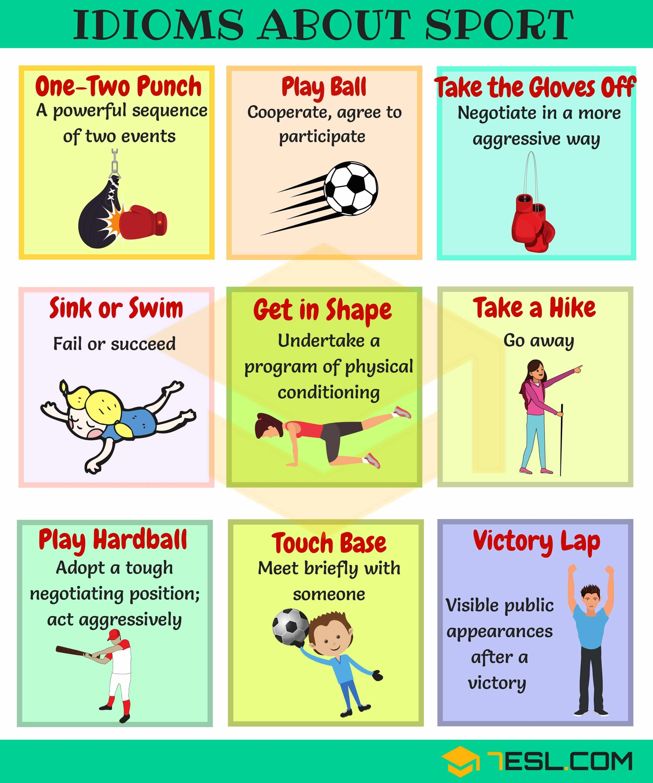 Sports Idioms 45 Useful Sport Idioms Amp Phrases