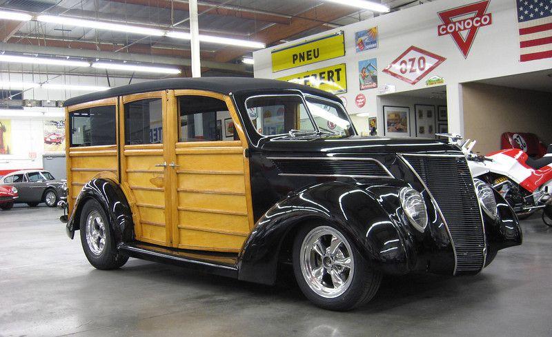 Ford 1937 Woody Wagon Sold Madison Zamperini Collection Woody Wagon Station Wagon Wagon