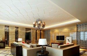 Modern villa living room design 2013