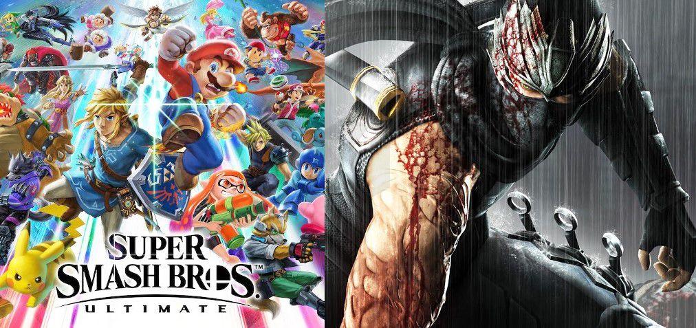 Super Smash Bros Ultimate Ryu Hayabusa Of Ninja Gaiden Will