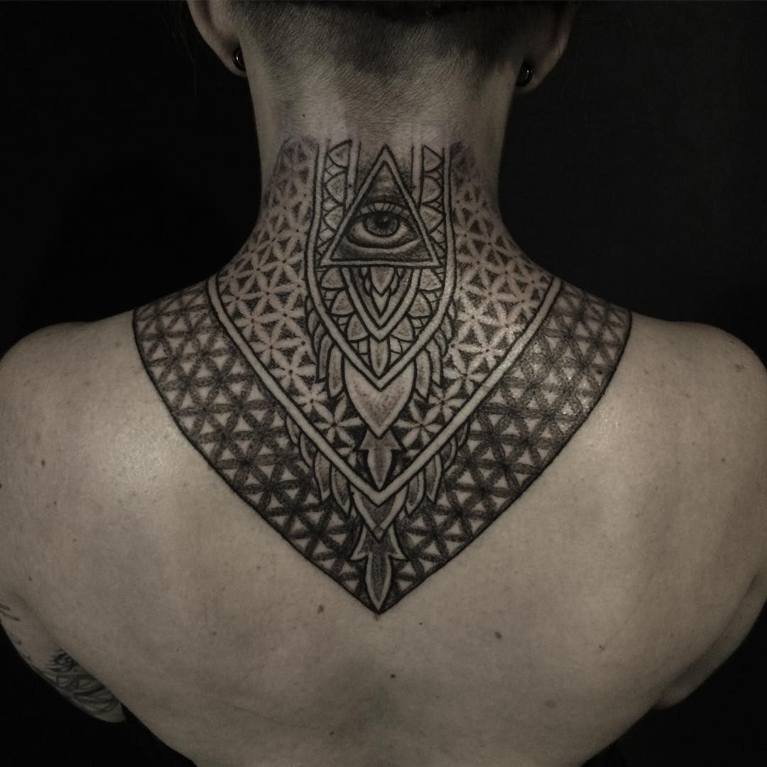35 Creative Neck Tattoos For Men and Women Very Cool