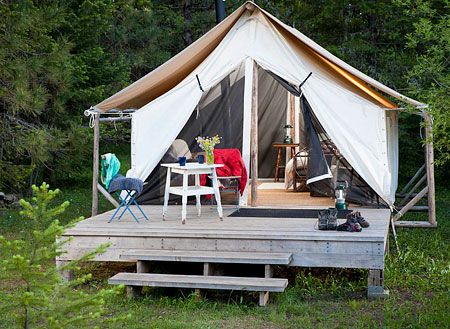 Rustic wall tents nestled on beautiful ranch in Southern Oregon (Ashland) & Page 4 - Happy Glampers: 6 Luxury Camping Spots in the Northwest ...