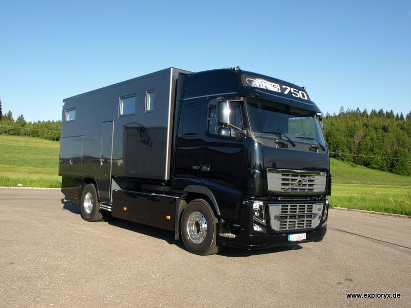 Volvo FH 16 Wohnmobil mit individuellem Innenausbau | Wohnmobile ...