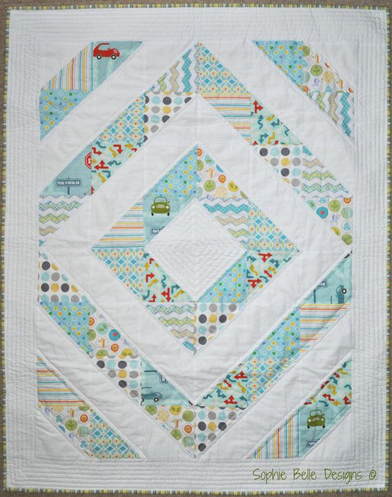 Beautiful Modern baby quilt by SophieBelleDesigns on Etsy, €120.00 ...