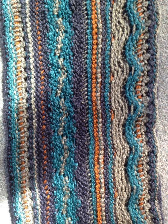 Scarf Tunisian Crochet Art In My Heart Pinterest Tunisian