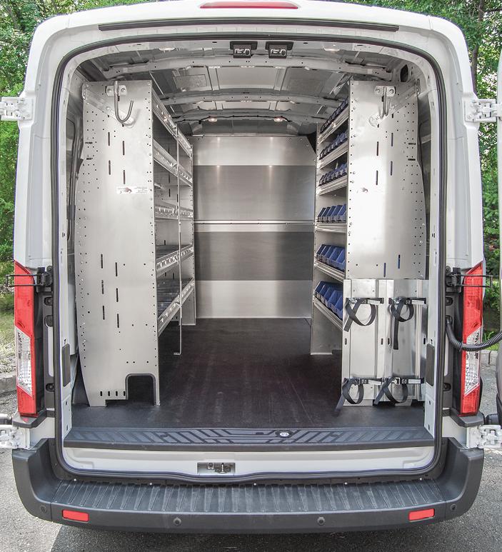Commercial Van Shelving Equipment And Interiors Van Ladder Racks Http Advantageoutfitters