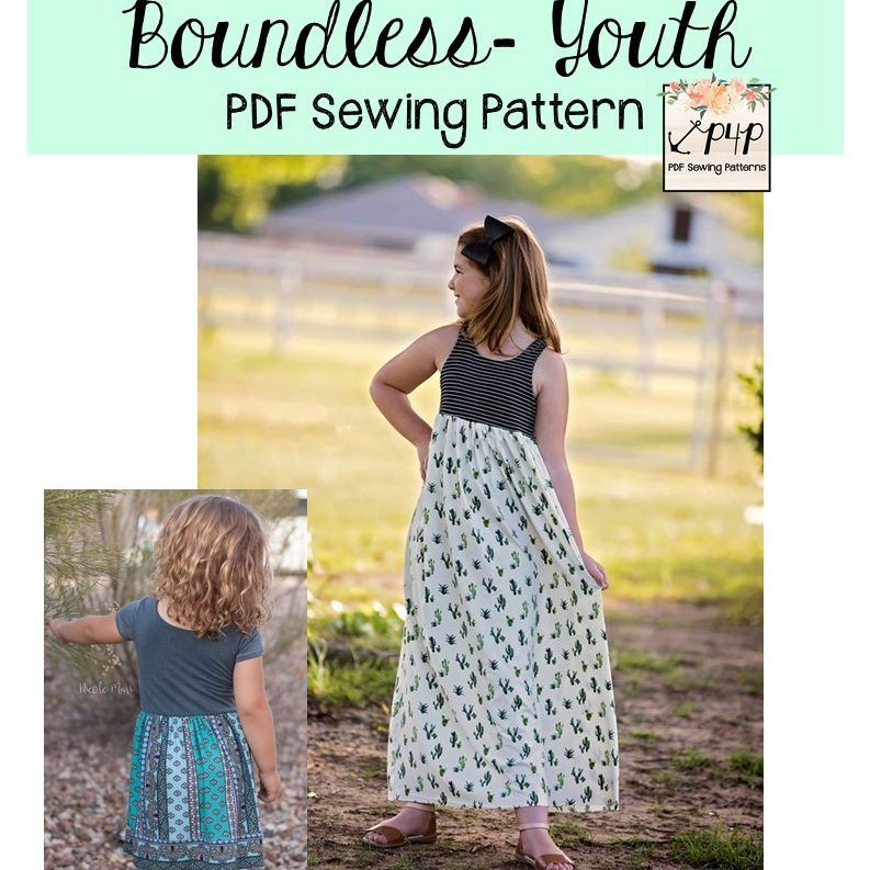 Boundless Youth Patterns For Pirates Maxi Dress Pattern Sewing