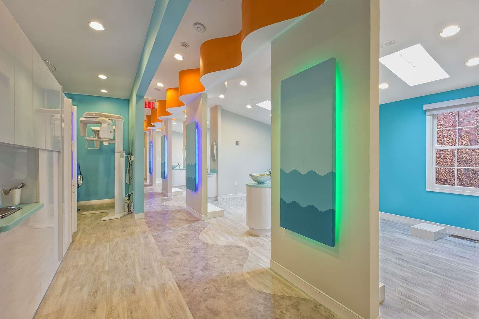 Parker Gray Pediatric Dental Care Interior Design Portfolio Pediatric Dental Office Design Dental Office Design Pediatric Dental Office