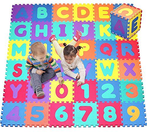 Click N Play Alphabet And Numbers Foam Puzzle Play Mat Https Www Amazon Com Dp B00si5jhus Ref Cm Sw R Pi Dp Play Mat Kids Playmat Alphabet And Numbers