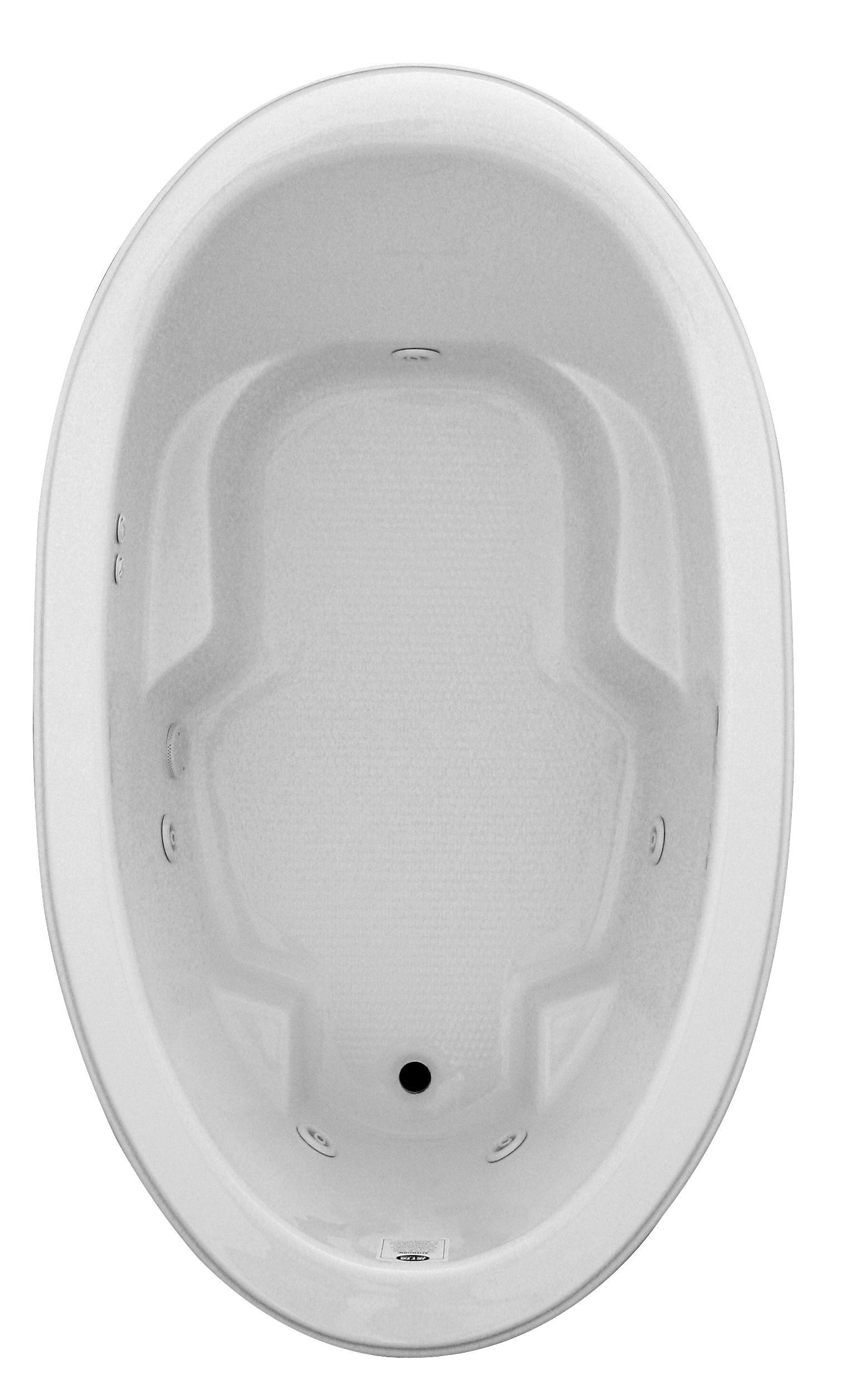 Jetta Classic whirlpool bathtub, J25 Nassau model. Visit www ...