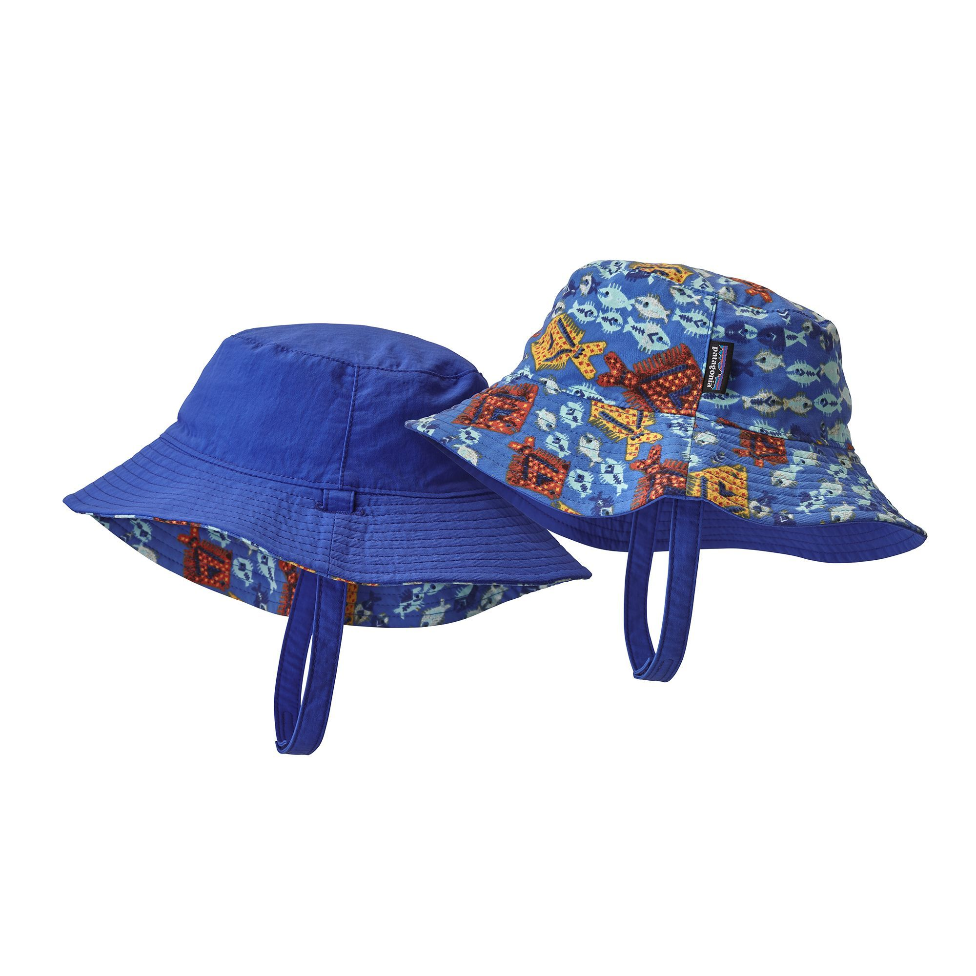 HATLEY BOYS REVERSIBLE UPF50 SUN PROTECTION HAT IN 2 DESIGNS
