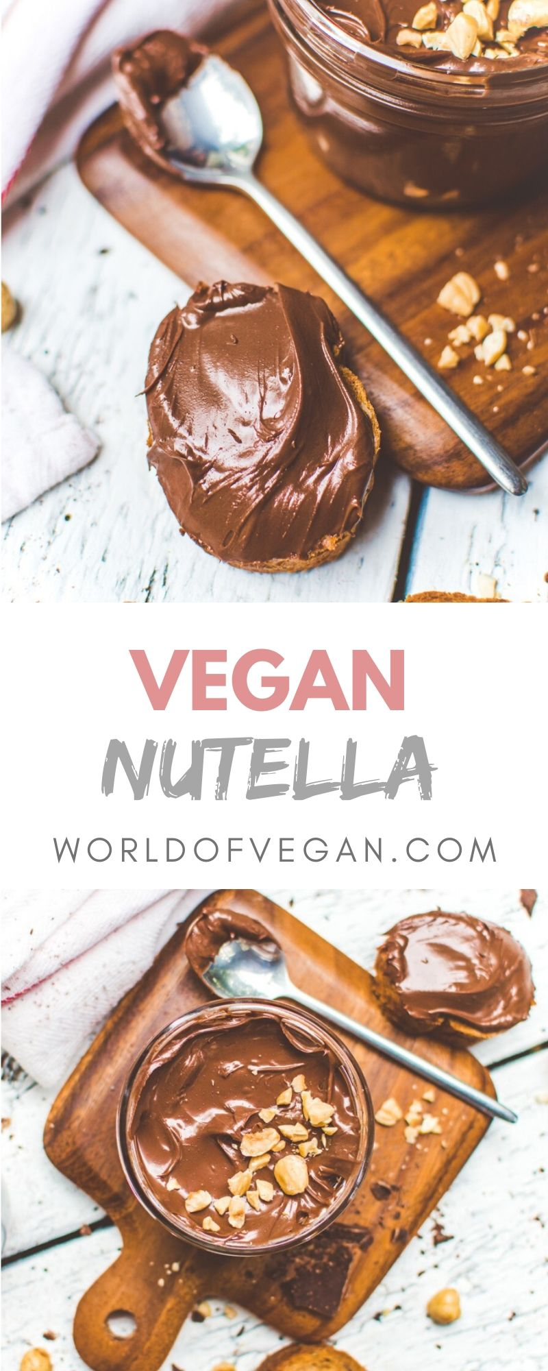 Homemade Vegan Nutella Recipe In 2020 With Images Vegan Chocolate Recipes Nutella Recipes