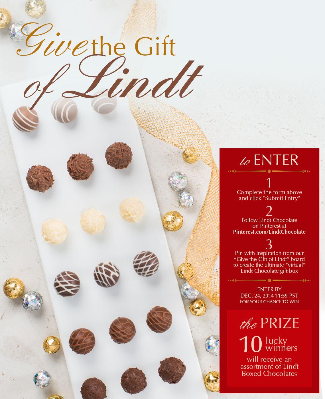 #LindtLove #GiftofLindt