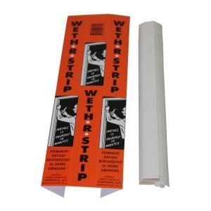 Portaseal Weth R Strip 1 In X 84 In Vinyl And Pine Moulding Weather Strip 2 Ws At Th Weather Stripping Garage Door Weather Stripping Door Weather Stripping