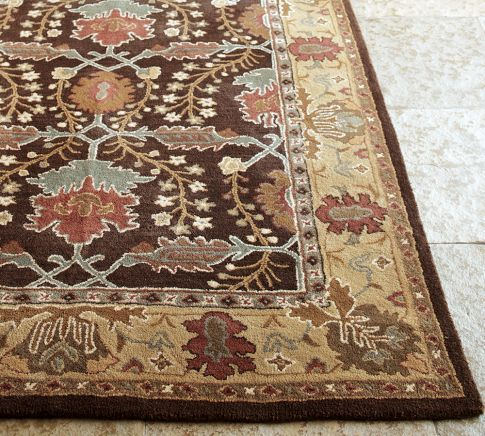 Brandon Persian Style Rug In 2020 Pottery Barn Rugs