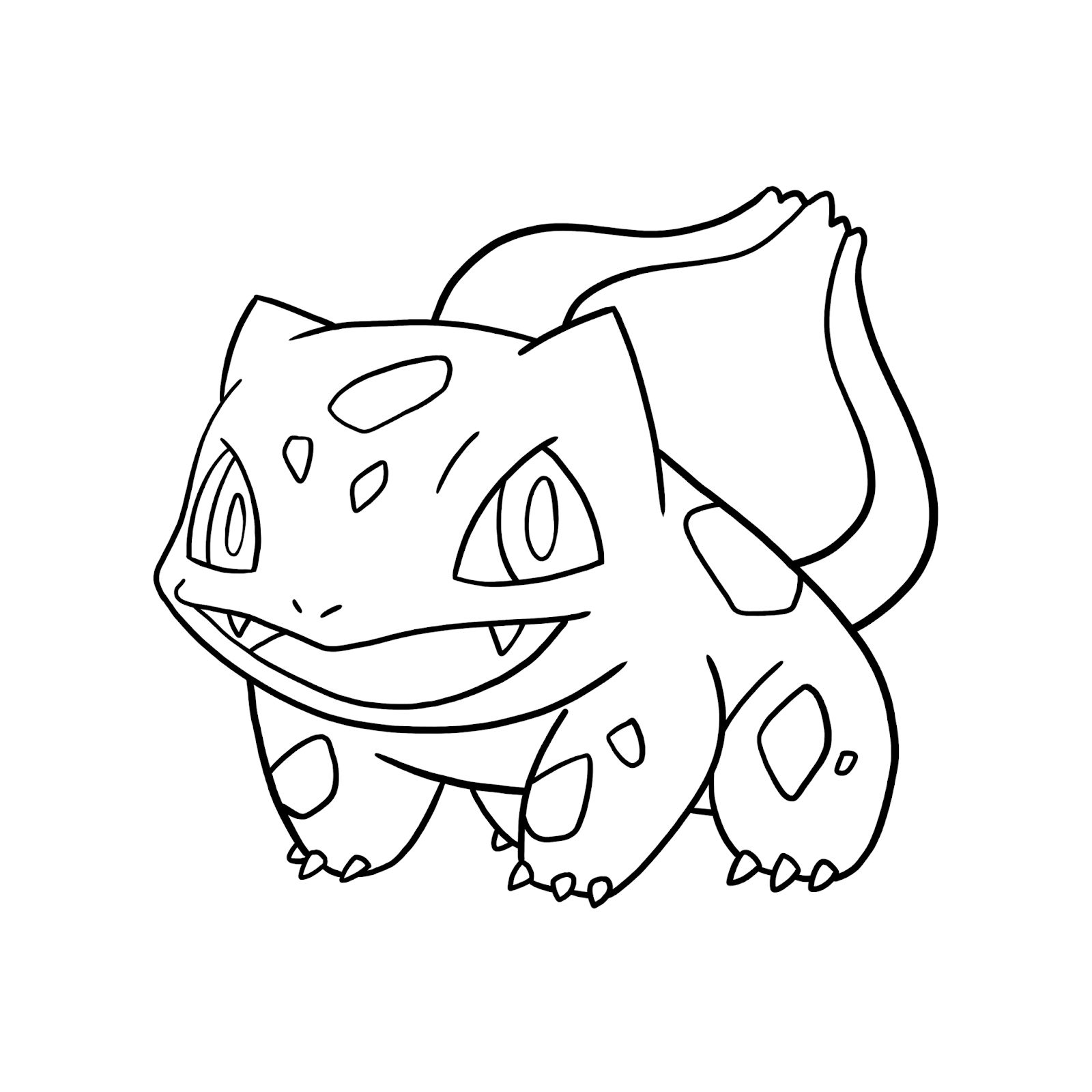 Bulbasaur Coloring Pages Free Pokemon Coloring Pages  Pokemon
