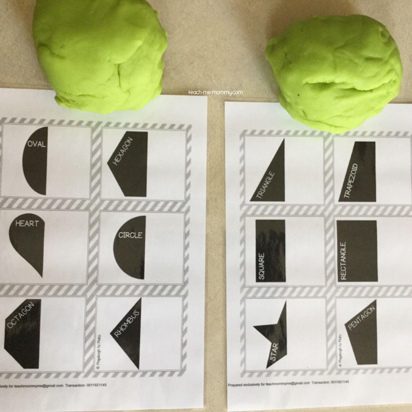 Symmetry Playdough