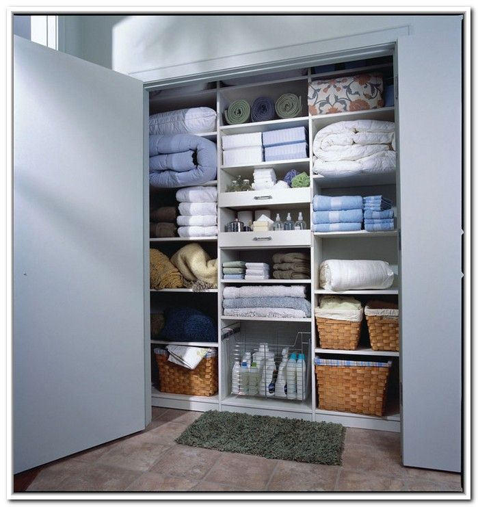 Image Of Linen Closet Design Ideas