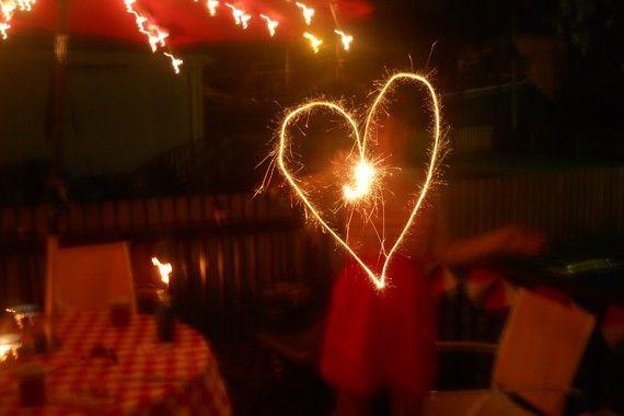 I heart sparklers.