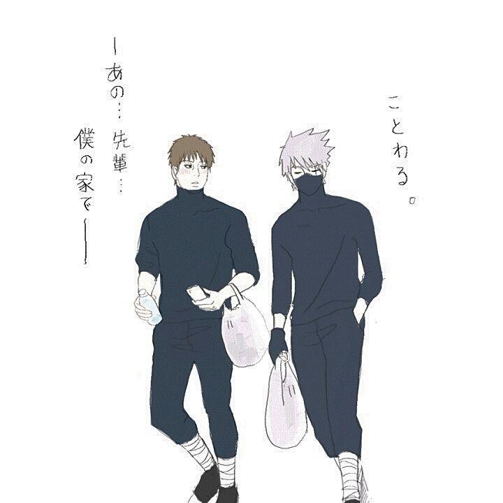 Tenzou/Yamato & Kakashi
