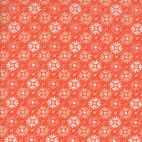 Sunnyside Prism In Blaze Orange 27168 12 1 2 By Pinkdoorfabrics Fabric Blaze Orange Novelty Fabric