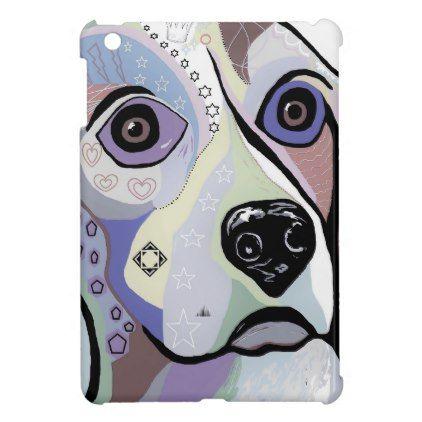 #Beagle DENIM Colors iPad Mini Cover - #beagle #puppy #beagles #dog #dogs #pet #pets