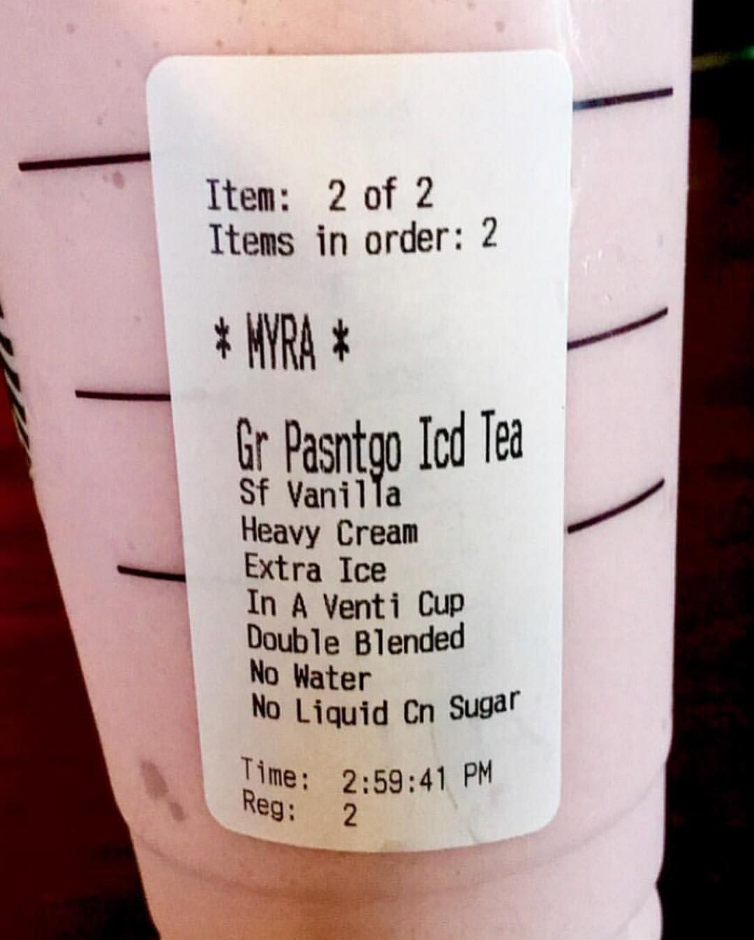 Starbucks Keto Drink Taste Like A Perfect Smoothie When Done