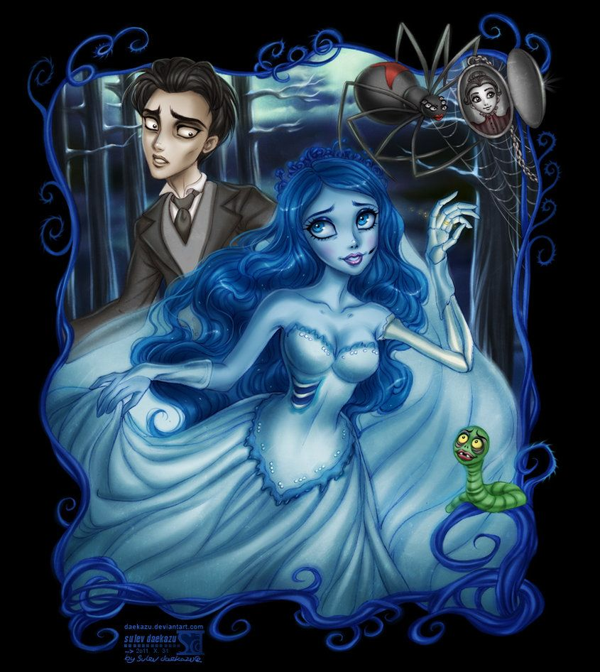 2a073aa606 corpse bride  emily and victor by daekazu